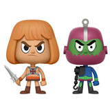 VYNL. MASTERS OF THE UNIVERSE HE-MAN + TRAP JAW