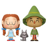 VYNL. THE WIZARD OF OZ DOROTHY AND TOTO + THE SCARECROW
