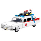 GHOSTBUSTERS ECTO-1 DIE CAST MODEL 1:24