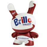 20-INCH DUNNY ANDY WARHOL WHITE BRILLO BOX LIMITED