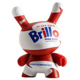 3-INCH DUNNY ANDY WARHOL SERIES 1 BRILLO BOX WHITE