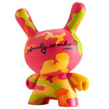 3-INCH DUNNY ANDY WARHOL SERIES 1 CAMO