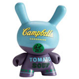 3-INCH DUNNY ANDY WARHOL SERIES CAMPBELL'S BLUE