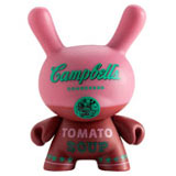 3-INCH DUNNY ANDY WARHOL SERIES 1 CAMPBELL'S PINK
