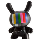 3-INCH DUNNY ANDY WARHOL SERIES 1 ANDY WARHOL'S TV