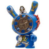 3-INCH DUNNY ARCANE DIVINATION THE WHEEL OF FORTUNE