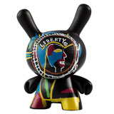 3-INCH DUNNY JEAN-MICHEL BASQUIAT TWO SIDED COIN