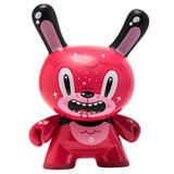 3-INCH DUNNY THE WILD ONES SERIES SQUINK BUBBLEGUM BEAR