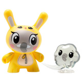 3-INCH DUNNY THE WILD ONES SERIES LINDA PANDA ELEPHANT