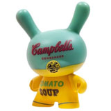 3-INCH DUNNY ANDY WARHOL SERIES 2 CAMPBELL'S YELLOW