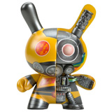 5-INCH DUNNY DAIROBO-B MECHA HALF RAY YELLOW
