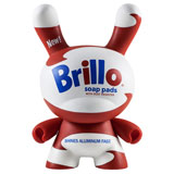 8-INCH DUNNY ANDY WARHOL BRILLO BOX WHITE