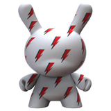 8-INCH DUNNY ICON DAVID BOWIE LIGHTNING BOLT