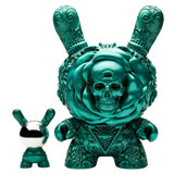 8-INCH DUNNY J*RYU ARCANE DIVINATION THE CLAIRVOYANT TEAL