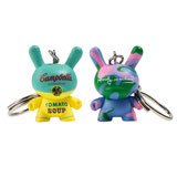 1.5-INCH DUNNY KEYCHAIN ANDY WARHOL SERIES SINGLE FIGURE