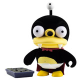 KIDROBOT X FUTURAMA FURRY LITTLE NIBBLER FLOCKED