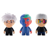 THE MANY FACES OF ANDY WARHOL MINI SERIES SINGLE FIGURE