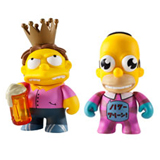 KIDROBOT X THE SIMPSONS 25TH MINI SERIES SINGLE FIGURE