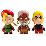 KIDROBOT X STREET FIGHTER V MINI SERIES SINGLE FIGURE