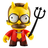 KIDROBOT X THE SIMPSONS 7-INCH DEVIL FLANDERS