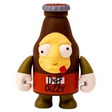 KIDROBOT X THE SIMPSONS 3-INCH DIZZY DUFF