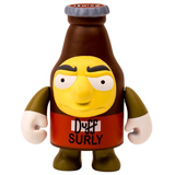 KIDROBOT X THE SIMPSONS 3-INCH SURLY DUFF