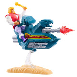 MASTERS OF THE UNIVERSE ORIGINS PRINCE ADAM W/ SKY SLED