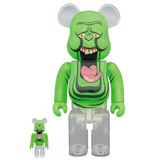 BE@RBRICK 400% GHOSTBUSTERS SLIMER 2-PACK