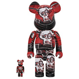 BE@RBRICK 400% JEAN-MICHEL BASQUIAT #5 2-PACK