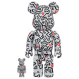 BE@RBRICK 400% KEITH HARING #8 2-PACK