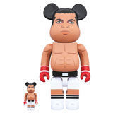 BE@RBRICK 400% MUHAMMAD ALI 2-PACK