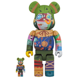 BE@RBRICK 400% POUPELLE OF CHIMNEY TOWN 2-PACK