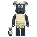 BE@RBRICK 400% SHAUN THE SHEEP 2-PACK