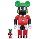 BE@RBRICK 400% SPACE JAM MARVIN THE MARTIAN 2-PACK