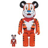 BE@RBRICK 400% TONY THE TIGER 2-PACK