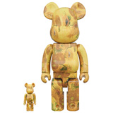 BE@RBRICK 400% VAN GOGH SUNFLOWERS 2-PACK