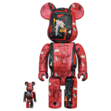BE@RBRICK 400% WARHOL X BASQUIAT #1 2-PACK