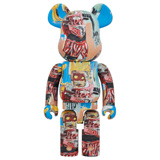 BE@RBRICK 1000% JEAN-MICHEL BASQUIAT #6