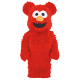 BE@RBRICK 1000% SESAME STREET ELMO COSTUME VERSION