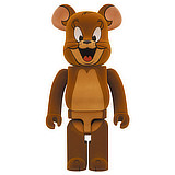 BE@RBRICK 1000% TOM AND JERRY JERRY FLOCKED