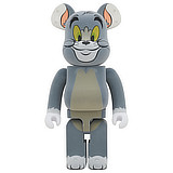 BE@RBRICK 1000% TOM AND JERRY TOM FLOCKED