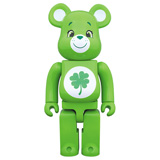 BE@RBRICK 400% CARE BEARS GOOD LUCK BEAR