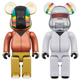 BE@RBRICK 400% DAFT PUNK DISCOVERY 2-PACK
