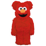 BE@RBRICK 400% SESAME STREET ELMO COSTUME VERSION