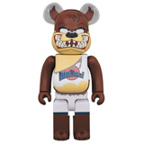 BE@RBRICK 400% SPACE JAM TASMANIAN DEVIL
