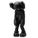 KAWS SMALL LIE BLACK