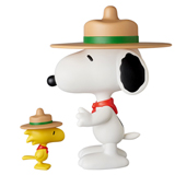 VCD PEANUTS BEAGLE SCOUT SNOOPY & WOODSTOCK