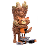 ROCKET AND GROOT TREEHUGGER