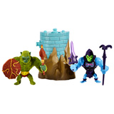 MOTU MINIS MOSS MAN VS. BATTLE ARMOR SKELETOR 2-PACK
