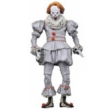 IT THE MOVIE 2017 PENNYWISE WHELL HOUSE 7-INCH ACTION FIGURE
